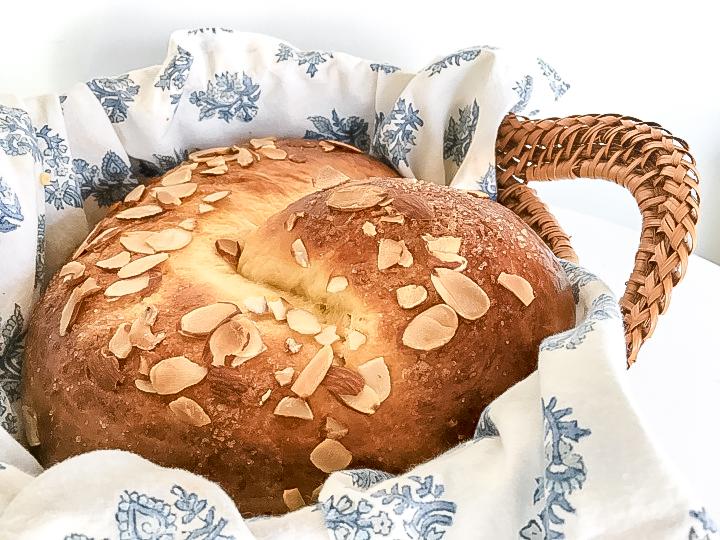Marzipan Advent Bread