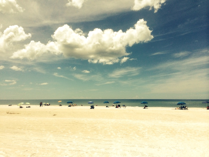 beach distant