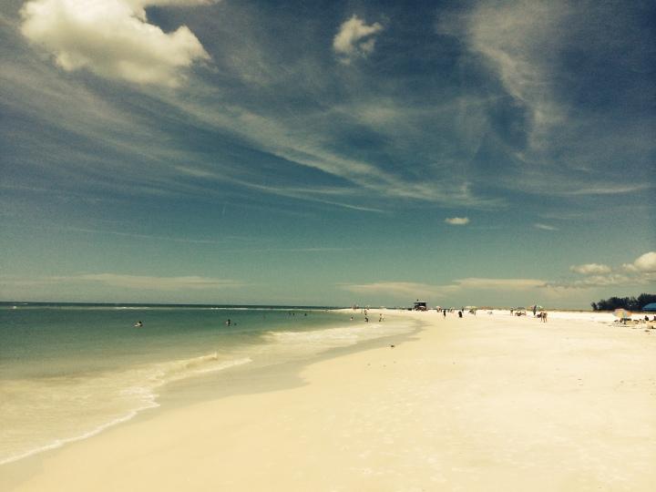 beach lateral view