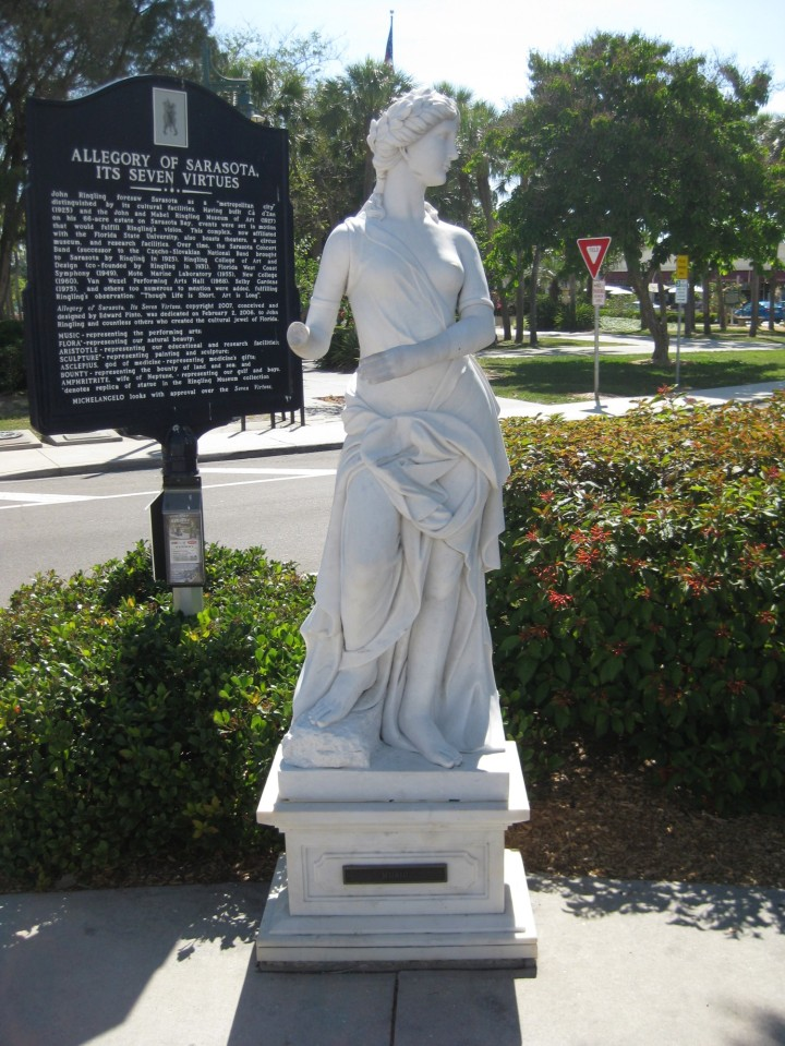 statue of virtue