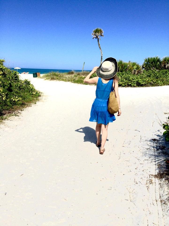 walking to the beach 2