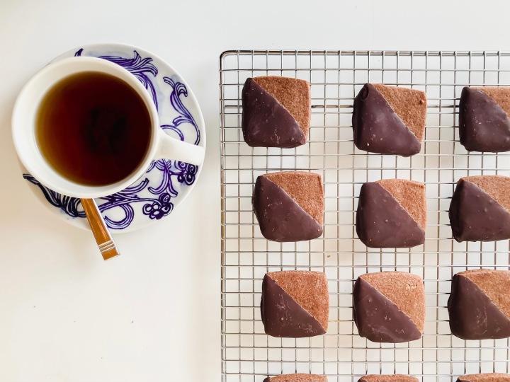 Espresso Cookie Squares